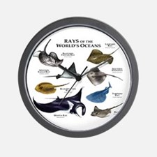Rays of the World Wall Clock