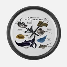 Rays of the World Large Wall Clock