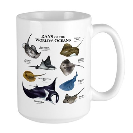 Rays of the World Large Mug