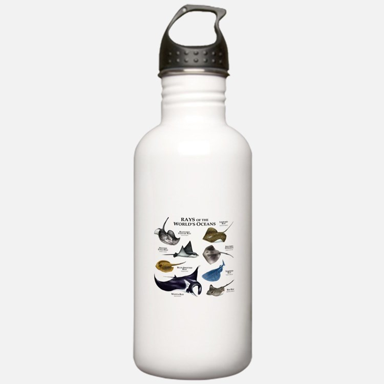 Rays of the World Water Bottle