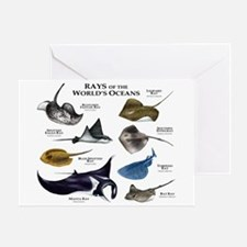 Rays of the World Greeting Card