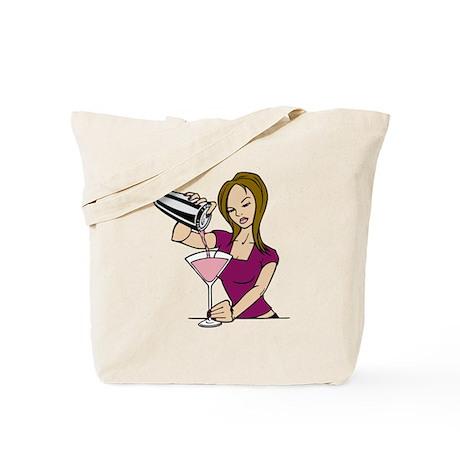 Hot Bartender Tote Bag