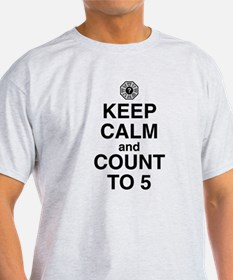 Keep Calm & Count to 5 T-Shirt