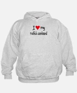 I LOVE MY Redtick Coonhound Hoodie