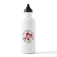 Myeloma Unite Awareness Water Bottle