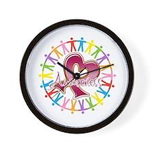 Myeloma Unite Awareness Wall Clock