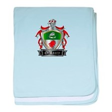 OLEARY COAT OF ARMS baby blanket
