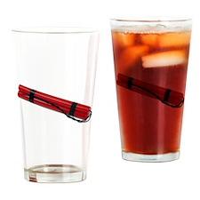 Braided Wicks Dynamite Drinking Glass