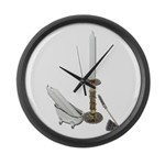 Candles for Bathroom Large Wall Clock
