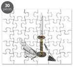 Candles for Bathroom Puzzle
