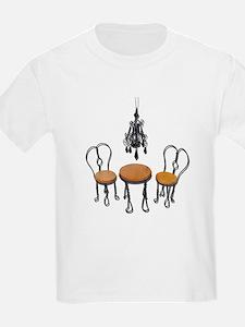Chandelier Bistro Setting T-Shirt