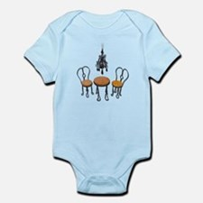 Chandelier Bistro Setting Infant Bodysuit