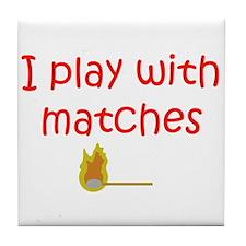 Matches Tile Coaster