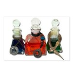 Colorful Potion Bottles with Postcards (Package of