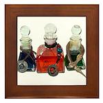 Colorful Potion Bottles with Framed Tile