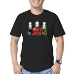 Colorful Potion Bottles with Men's Fitted T-Shirt