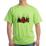 Colorful Potion Bottles with Green T-Shirt