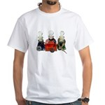 Colorful Potion Bottles with White T-Shirt