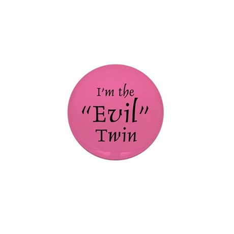 Evil Twin Mini Button