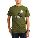 High Heel Wine Glass Stars Organic Men's T-Shirt (