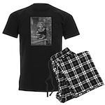 1905 Christmas Baking Men's Dark Pajamas