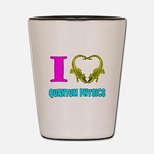 Quantum Physics Shot Glass