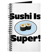 Sushi is Super! Journal