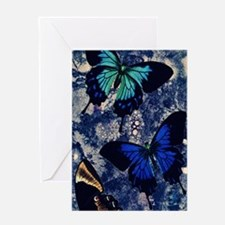 butterfly art Greeting Card