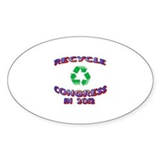 Recycle Congress Decal