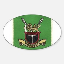 Republic of Rhodesia Sticker (Oval)