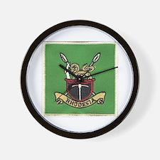 Republic of Rhodesia Wall Clock