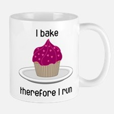 Cupcake w/Pink Hearts Mug