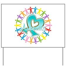 Ovarian Cancer Unite Yard Sign