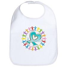 Ovarian Cancer Unite Bib