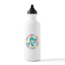 Ovarian Cancer Unite Water Bottle
