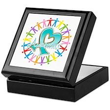Ovarian Cancer Unite Keepsake Box