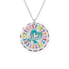 Ovarian Cancer Unite Necklace