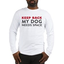 Message on Both Sides Long Sleeve T-Shirt