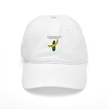 Pickles and Bananas Baseball Baseball Cap