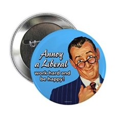 "Annoy a Liberal 2.25"" Button (100 pack)"