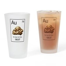 Gold Rush Au-NgNg Drinking Glass