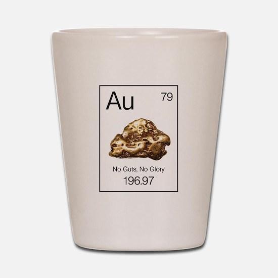Gold Rush Au-NgNg Shot Glass