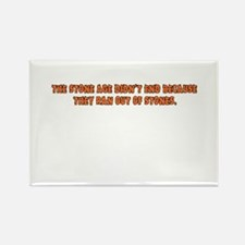 Stone Age Rectangle Magnet (10 pack)