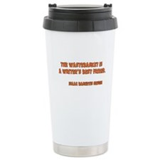 Wastebasket Travel Coffee Mug