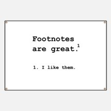 Footnotes Great Banner