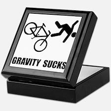 Gravity Sucks Bike Keepsake Box