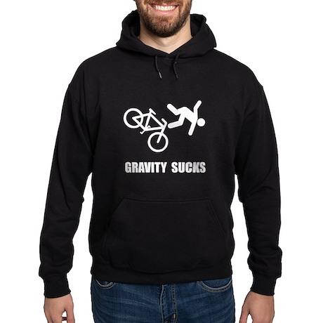 Gravity Sucks Bike Hoodie (dark)