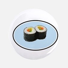 "Sushi is Super! 3.5"" Button"