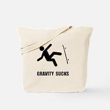 Skateboard Gravity Tote Bag
