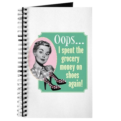 Oops! Shoes! Journal